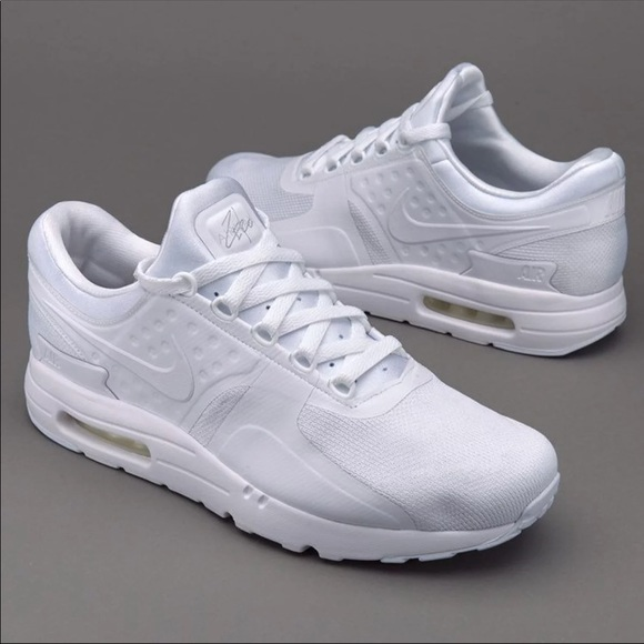wholesale dealer 2ce38 19207 Brand New Nike Airmax Zero All White 5Y/6.5 Women
